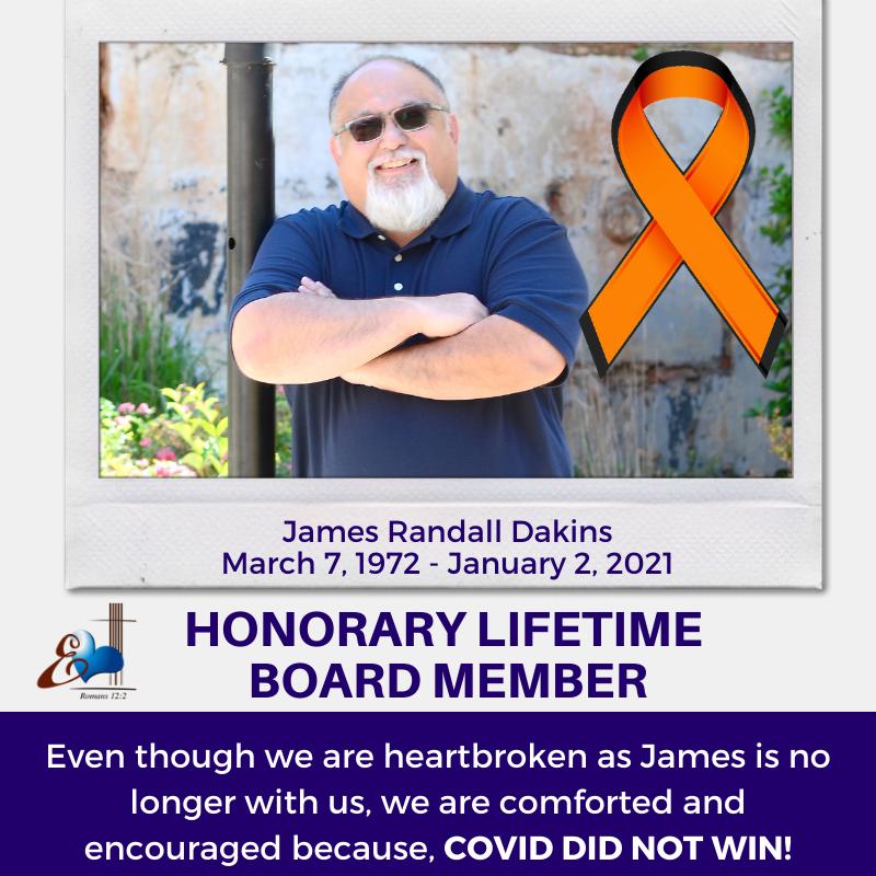 James Dakins - Honorary Board Member